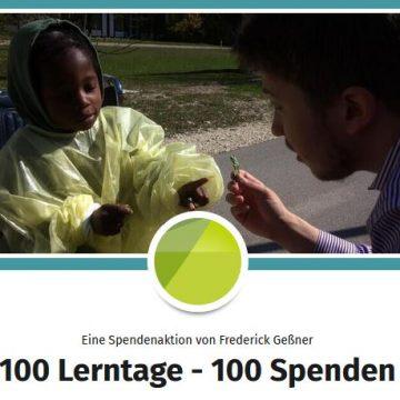 100 Lerntage – 100 Spenden
