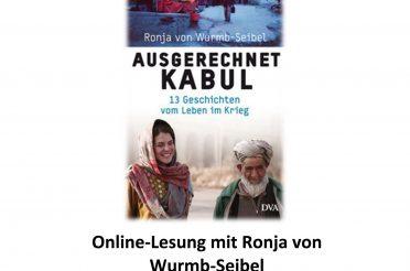 Online-Lesung mit Ronja von Wurmb-Seibel