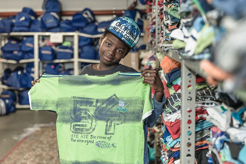 #SpendenStattVernichten hilft Kindern aus Kriegs- und Krisengebieten