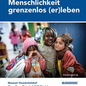 """Ausstellung """"Menschlichkeit grenzenlos (er)leben"""" öffnet ab 09.03.2021"""