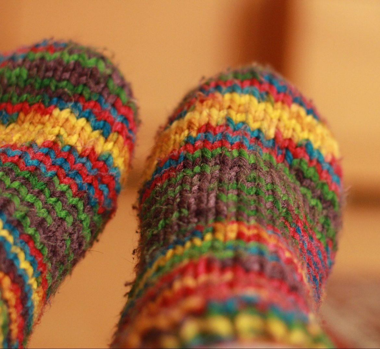 FÄLLT AUS!Strickkurs: Socken für den kleinen Fuß