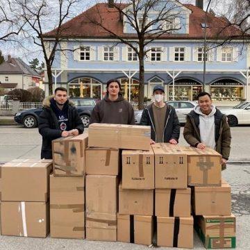Großes Engagement für Friedensdorf International