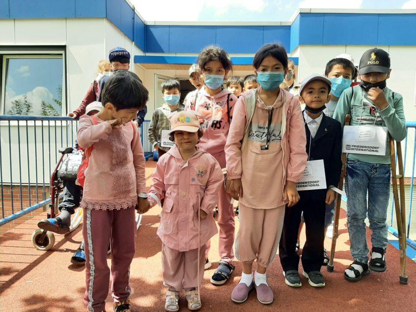 Hilfseinsatz für Kinder aus Usbekistan