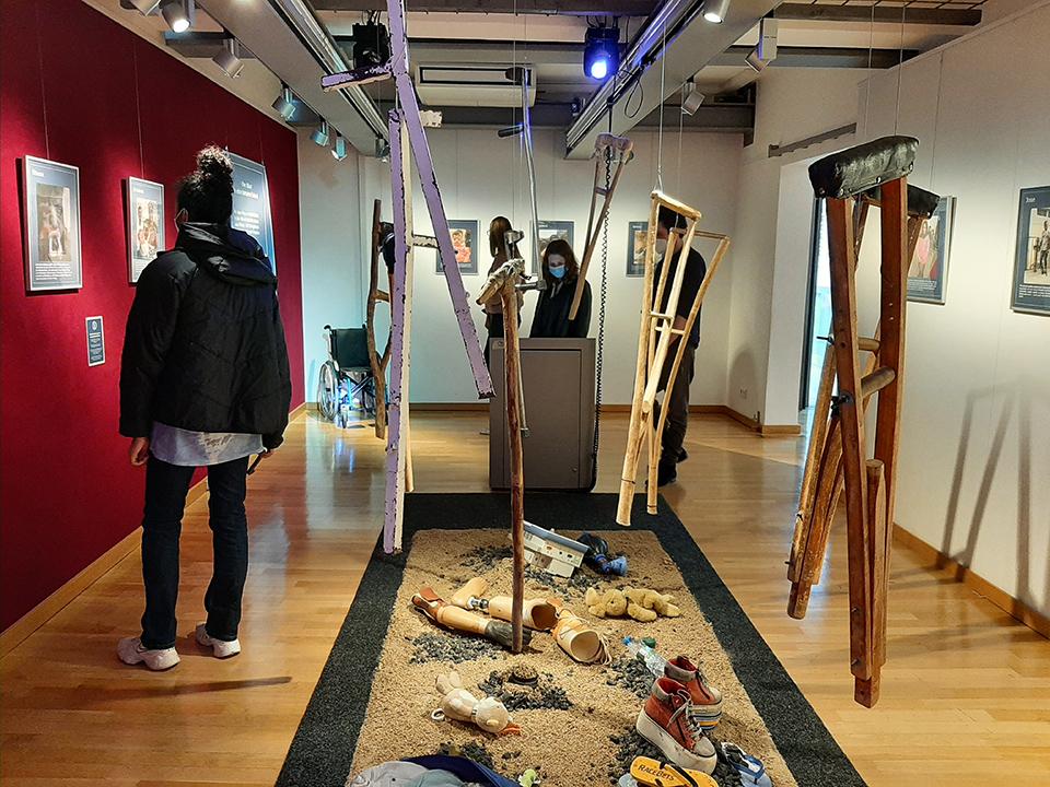 Virtuelle Führung durch die Friedensdorf-Ausstellung im Museum Voswinckelshof