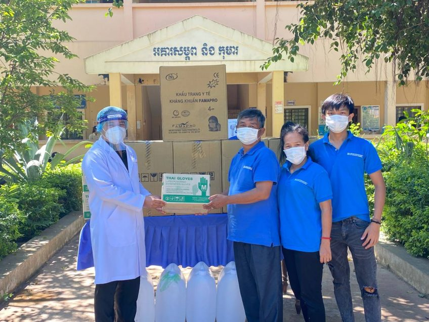 Hilfe für Kambodscha geht auch unter schweren Bedingungen weiter