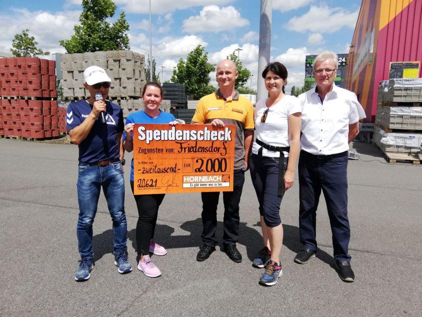 Erfolgreicher 1. EVO-Friedensdorf-Run