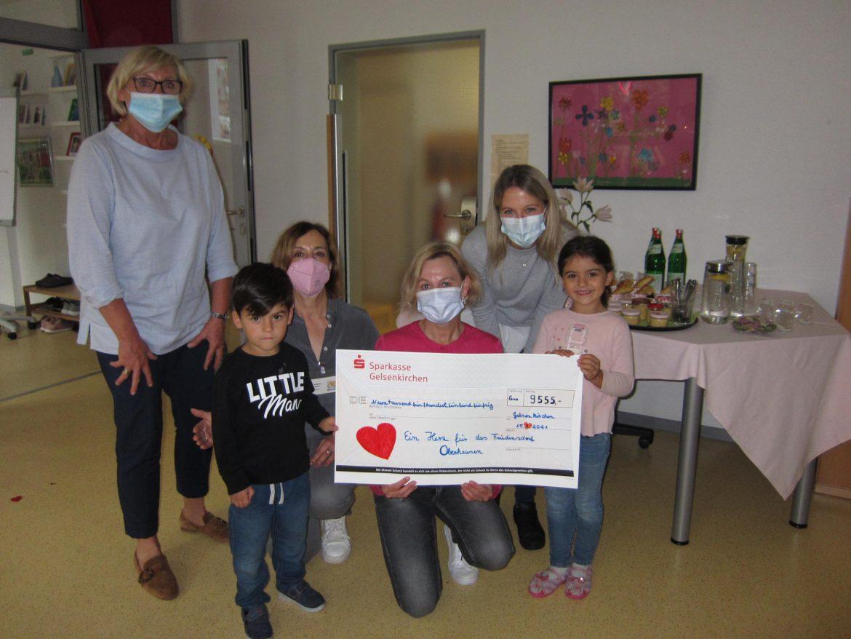 Kreative Spendenaktion während der Corona-Pandemie