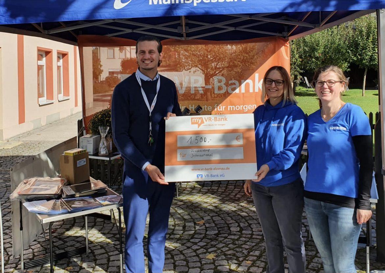 Treue Unterstützung fürs Friedensdorf